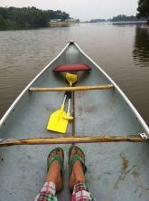 Morning PJ Canoe Ride July 2012